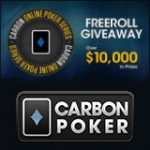 Carbon Online Poker Series Freeroll 2015