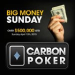 Carbon Poker Big Money Søndagsturneringer