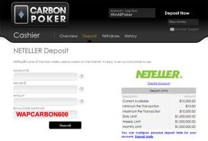 carbon poker bonus code