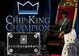 carbon poker chipking champion -