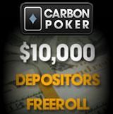 carbon poker depositors freeroll