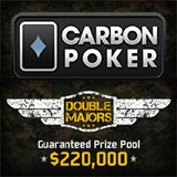carbon poker double majors