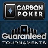 carbon poker guaranteed tournament