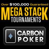 Mega Stack Torneios Carbon Poker