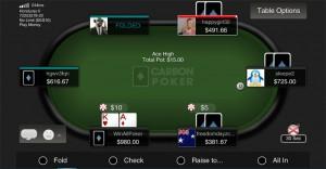 carbon poker app