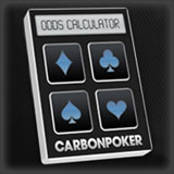 carbon poker odds calculator