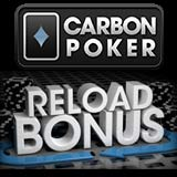 carbon poker reload bonus code 2012