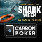 Carbon Poker Shark Week Freerolls