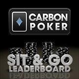 Carbon Poker Sit & Go Leaderboard