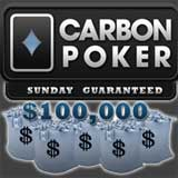carbon poker tournaments sunday