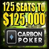 carbonpoker freeroll 125k