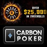 carbon poker freeroll fury
