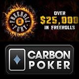 carbon poker freeroll fury