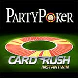 party poker card rush race