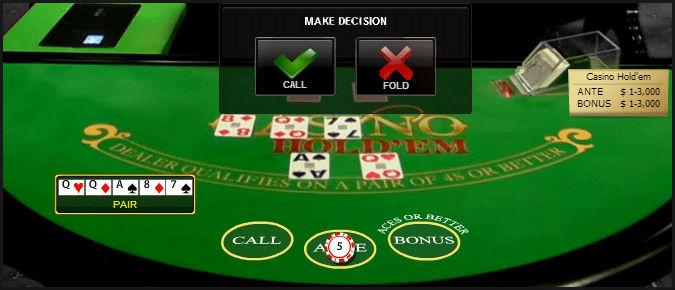 casino holdem como jogar