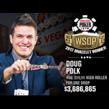 Doug Polk remporte le 3ème WSOP bracelet