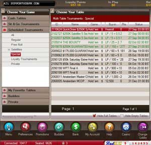 Freeroll poker with no deposit