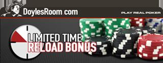 Recargar DoylesRoom Poker Bonus code