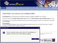 Empire Poker update