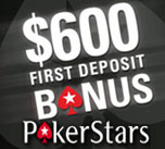 first deposit bonus pokerstars -