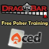 free poker training dragthebar acedpoker