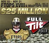ftops xviii full tilt poker tournaments