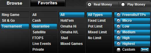 poker online do Full Tilt