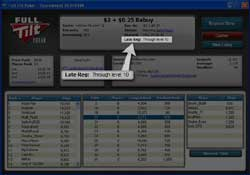 Full Tilt Poker sent reg