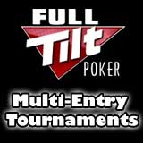 full tilt poker multi entry tournaments