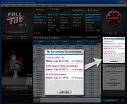 Full Tilt Poker widget