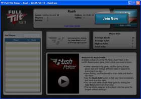Full Tilt pokerrush