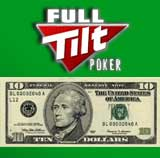 FullTilt Poker minimum indbetaling $10