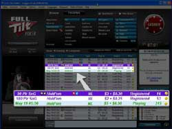 Full Tilt Poker Lobby update