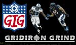 gridiron grind carbonpoker promotion - NFL style