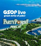 PartyPoker Freeroll GSOP Greece