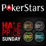 pokerstars half price sunday