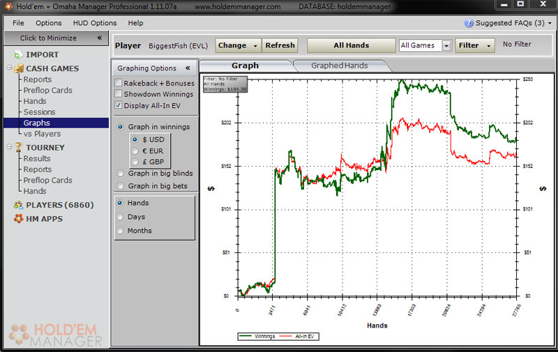 poker hands tracking software