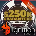 Torneio Garantido $250k Ignition Poker