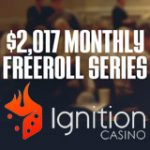 Ignition Poker Freeroll Torneio Senha