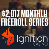 Ignition Poker Freeroll Tournoi