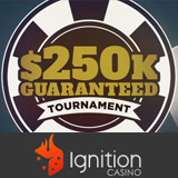 $250K Garanterad Turnering Ignition Poker
