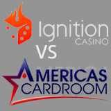 ignition poker vs americas cardroom
