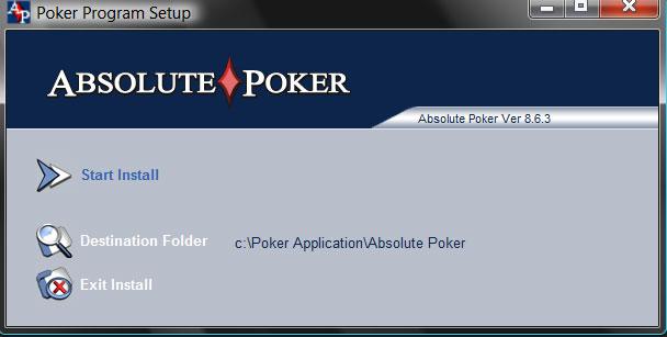 Absolute poker update