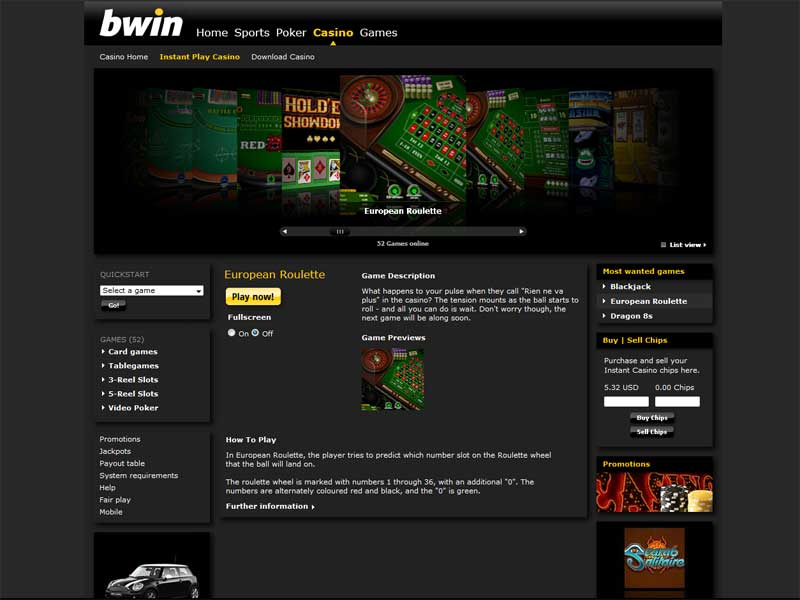 bwin online casino sharky slot