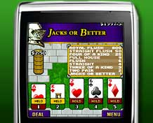 Mobile Video Poker game