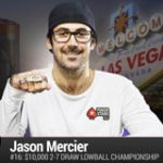 Jason Mercier vinder 4. Armbånd WSOP 2016