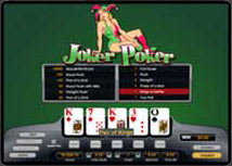 Play Joker-poker at carboncasino