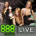 Live-Dealer Casino von 888Casino