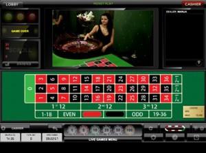 live dealer roulette mobile