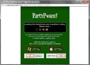 PartyPoker anywhere